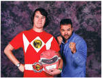 Me and Austin St.John by DoctorWhoOne