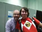 Me and Red Dwarfs Robert Llewellyn by DoctorWhoOne