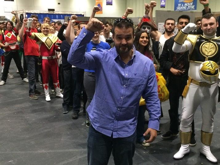 Me in an Austin St.John London MCM Expo Photograph by DoctorWhoOne