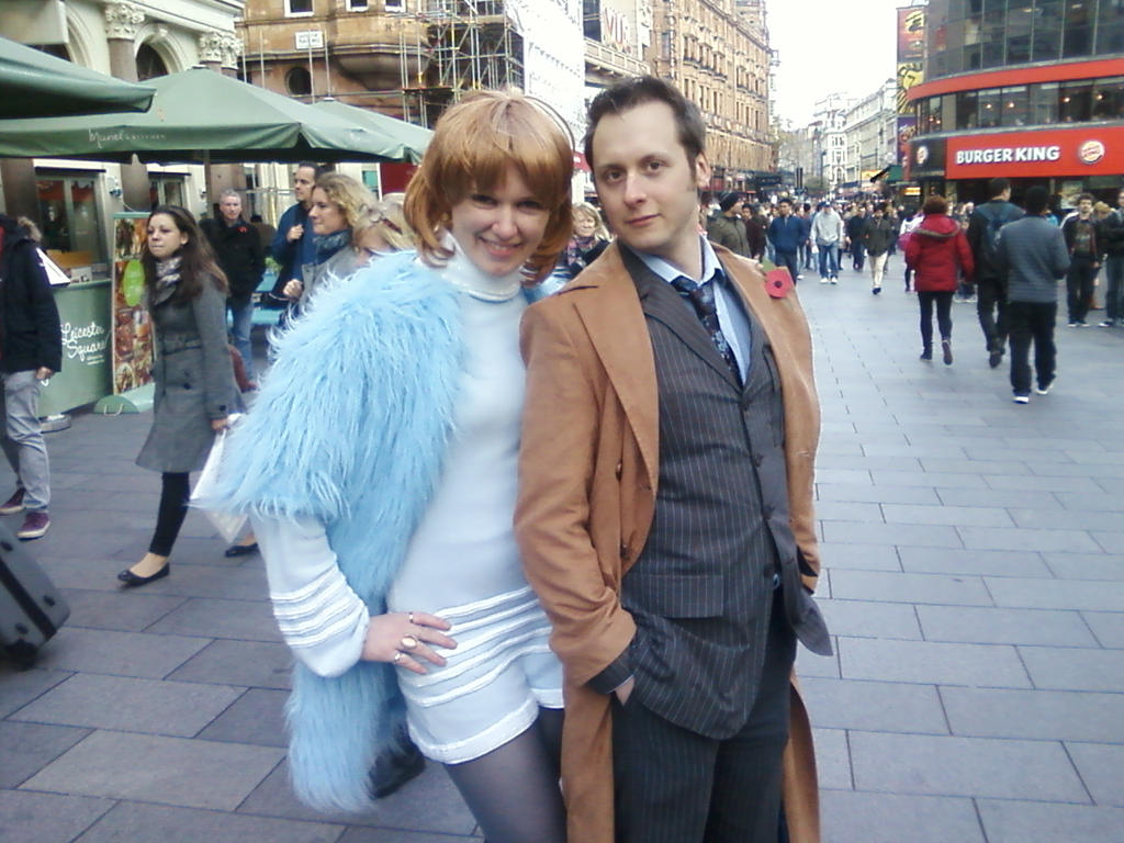 Doctor Who - Jo Grant and 10th Doctor Cosplayers by DoctorWhoOne