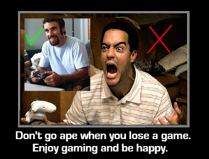 Gamers - Angry and Happy by DoctorWhoOne