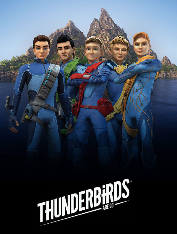 Thunderbirds Are Go - The Tracy Brothers by DoctorWhoOne