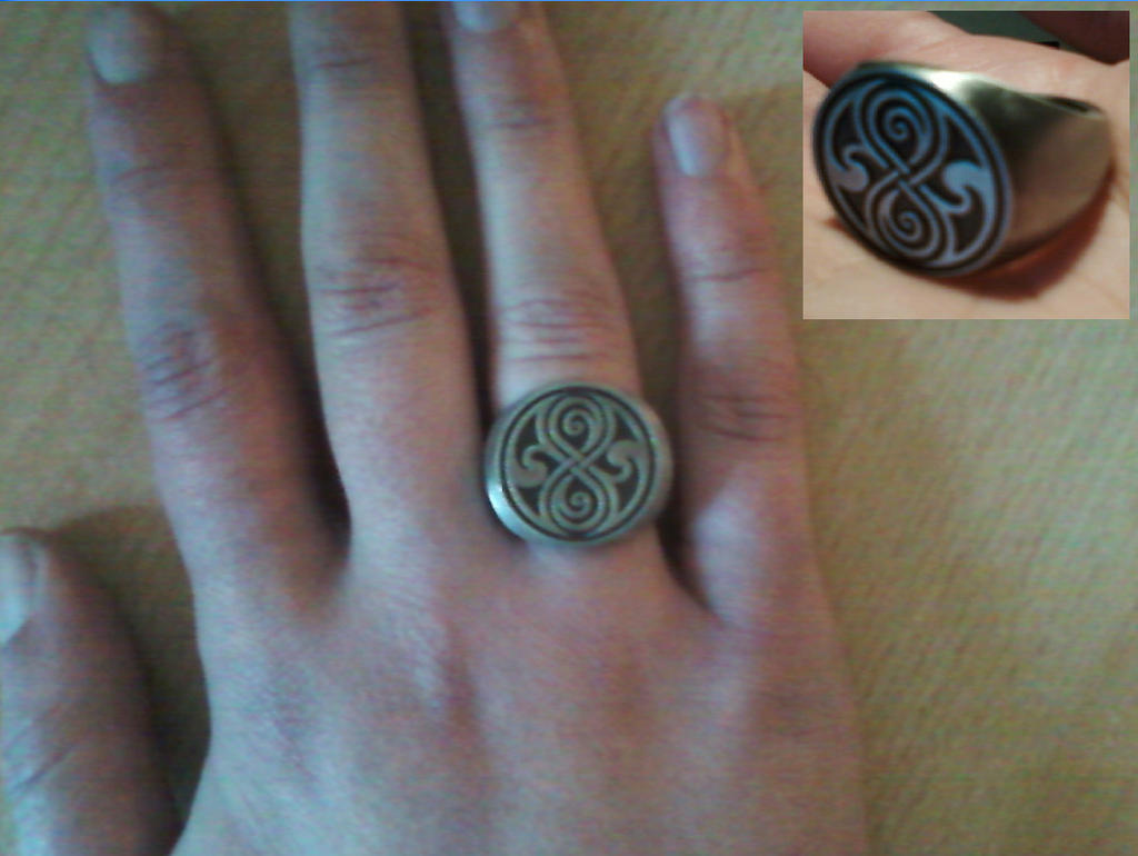 DOCTOR WHO Dr. Who Seal of Rassilon Ring RcOD0K3tdL