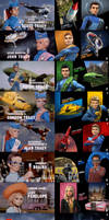 Thunderbirds Titles - Old  VS New [2of2]