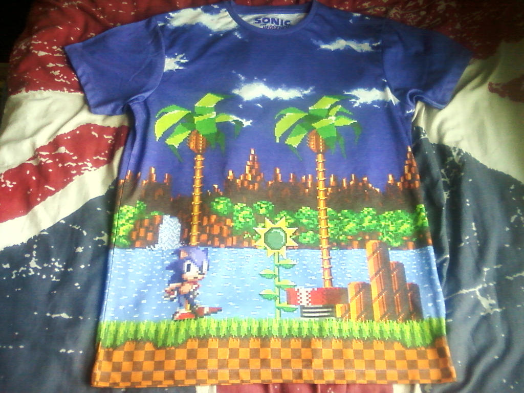 Sonic The Hedgehog T Shirt By Doctorwhoone On Deviantart