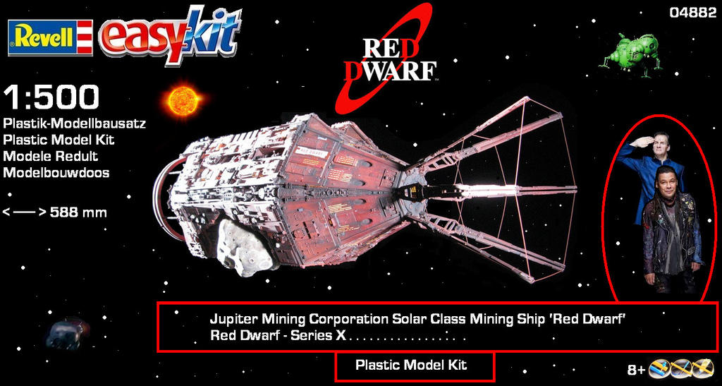 red dwarf ship model kit - photo #6