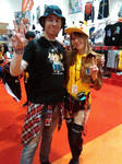 Me with Jade from Tokyo Toys [LMCME] by DoctorWhoOne