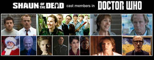 Shaun of the Dead cast members in Doctor Who