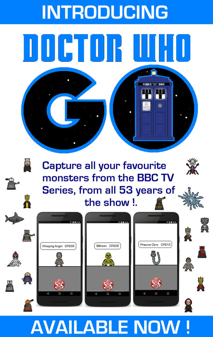 Doctor Who Go [Pokemon Go Parody] by DoctorWhoOne