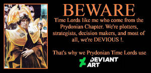 Devious Time Lords use Deviant Art