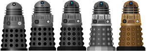 Doctor Who - Evolving into the Time War Daleks by DoctorWhoOne