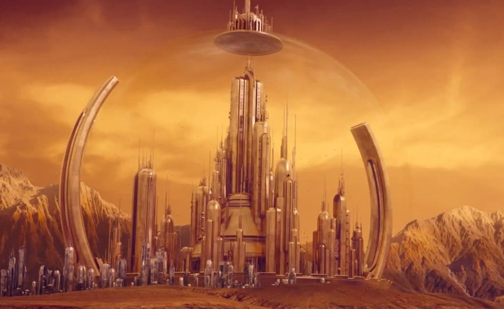 Time Lord Citadel Gallifrey Doctor Who By Doctorwhoone