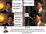 Doctor Who - The Doctor VS Sexist Buffoon