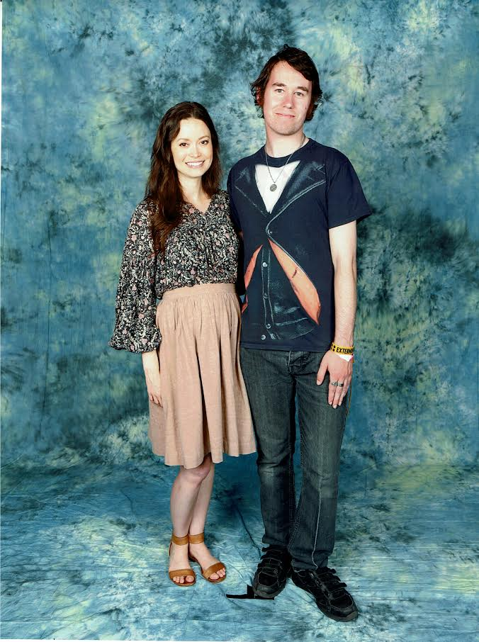 Me with Summer Glau [London MCM Expo] by DoctorWhoOne