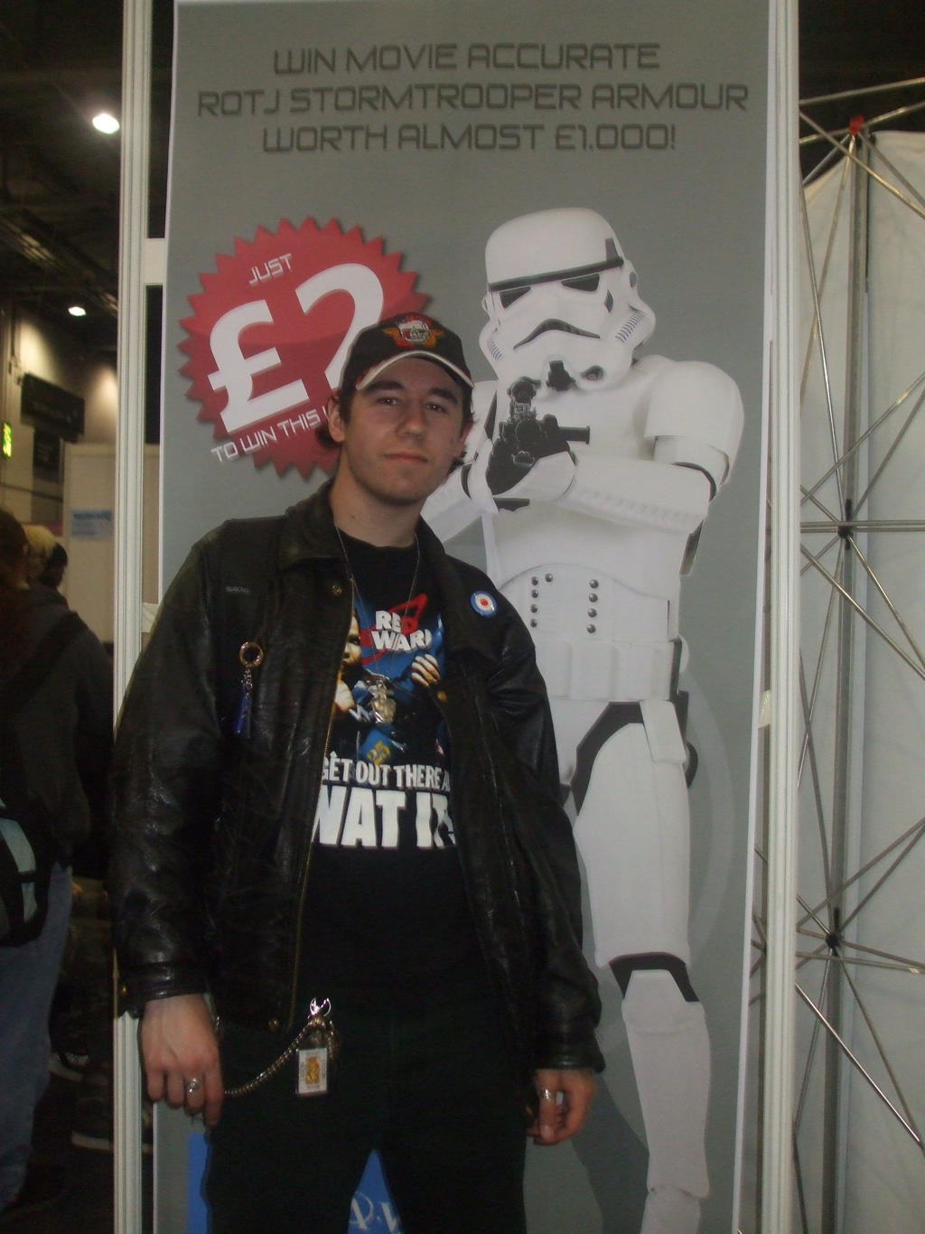 May 2011, my first London MCM Expo / Comic-Con