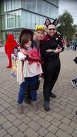 Deviant Art Chums at London MCM Expo / Comic-Con ! by DoctorWhoOne