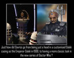 Doctor Who - Davros continuity issue