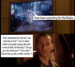 Doctor Who - Dalek  [2005] - Omitted Buffy moment