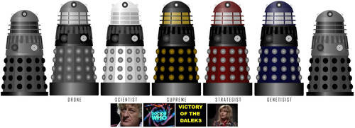 Classic Doctor Who does 'Victory of the Daleks'
