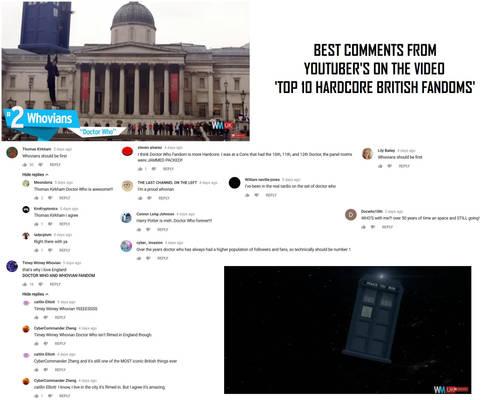 Best comments on 'Top 10 Hardcore British Fandoms'