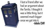 Jest of the Fest - Doctor Who joke