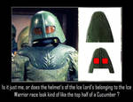 Doctor Who - Ice Lord Cucumber Helmets