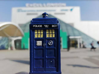 Doctor Who - Tardis lands at Excel by DoctorWhoOne