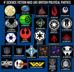If Sci-Fi was like British political parties by DoctorWhoOne