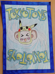 Tokyo Toys - Pokemon Trading Card style by DoctorWhoOne