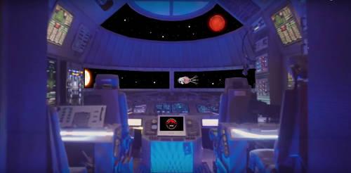 Red Dwarf - Modern Starbug 1 Cockpit
