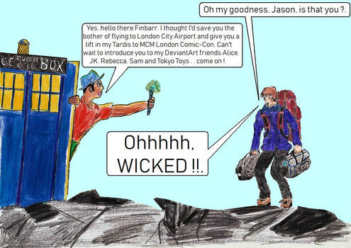 DeviantArt's Incoming-101 meets Doctor Who One