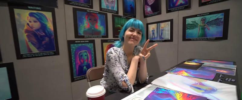Alice / DestinyBlue at MCM London Comic-Con