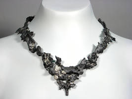 Iron and Silver necklace