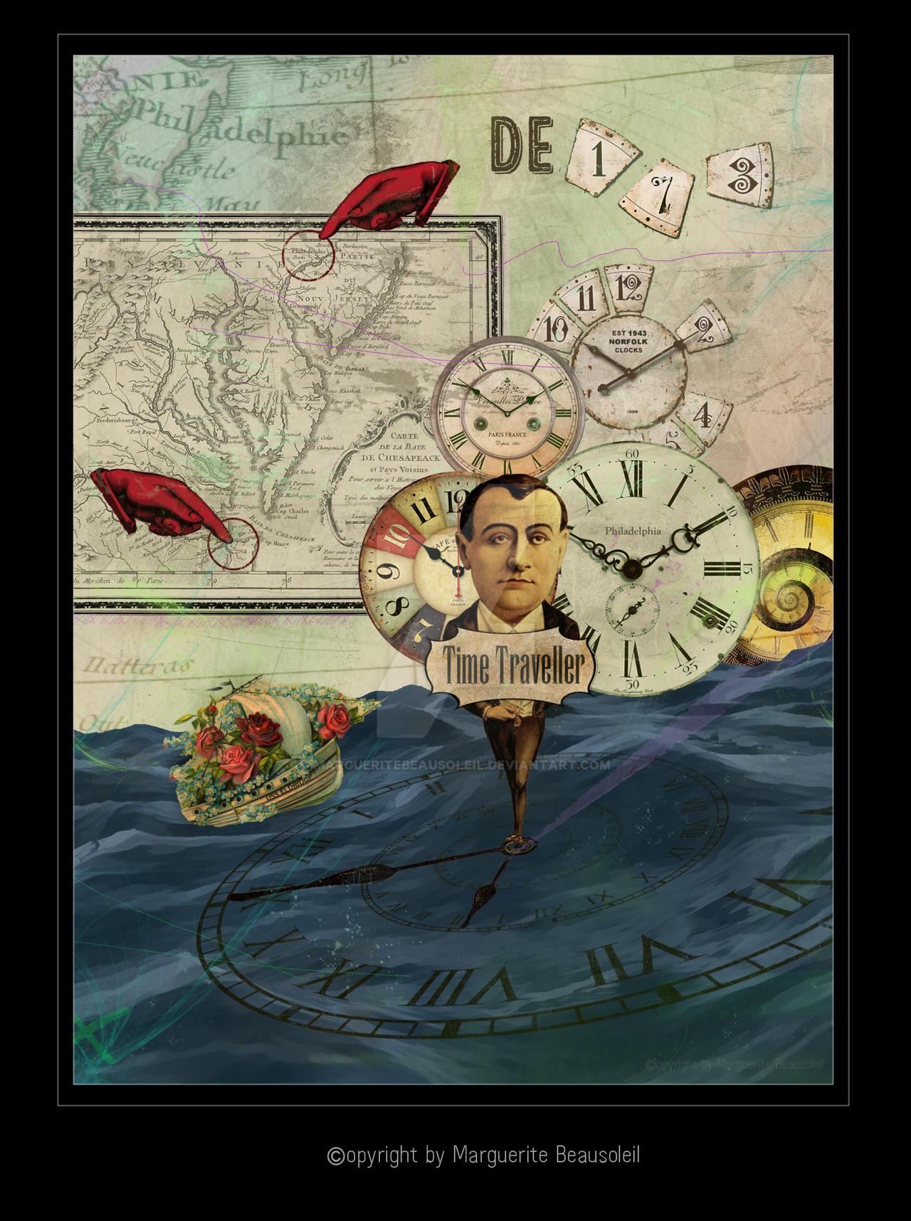Time Traveller by MargueriteBeausoleil