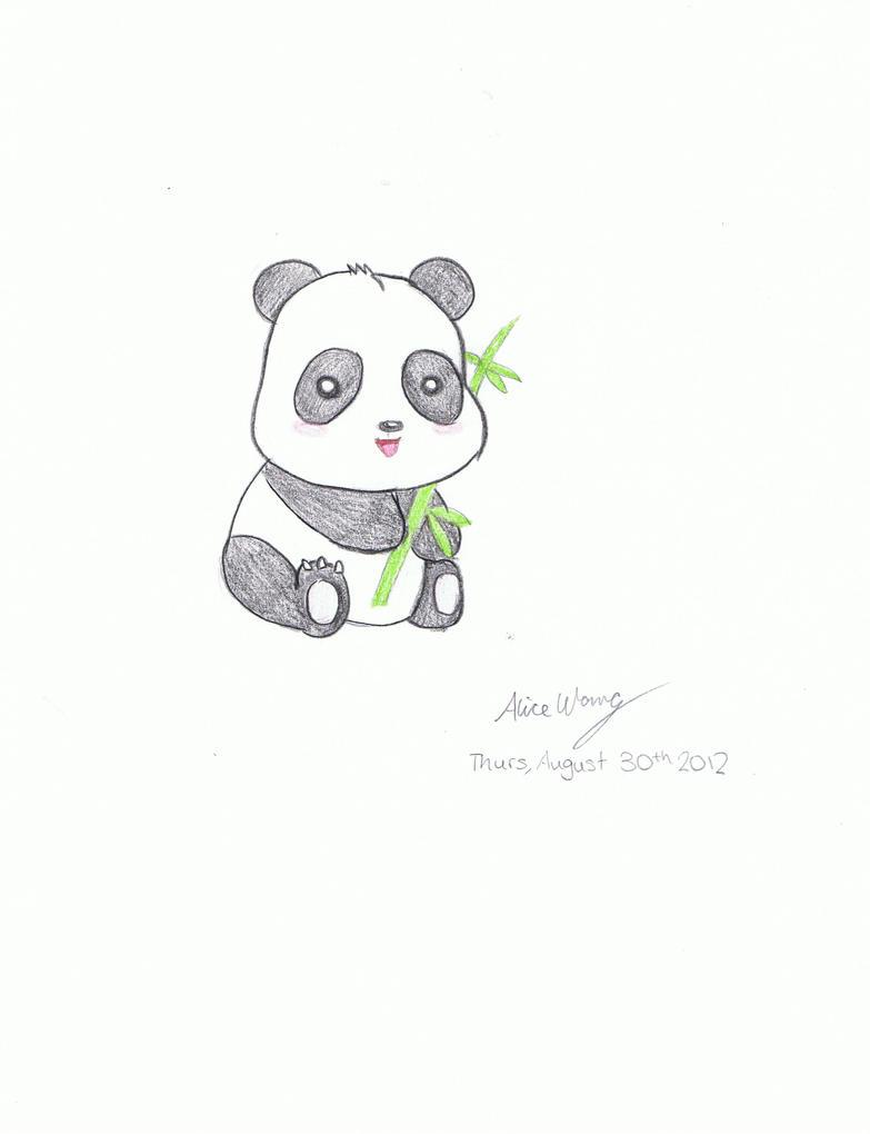 Cute Manga Panda By Bunny1225 On Deviantart