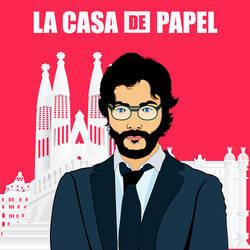 Money-heist-professor La Casa De Papel
