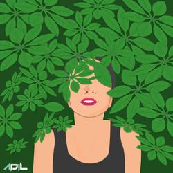 Tree-girl Green Earth Vector