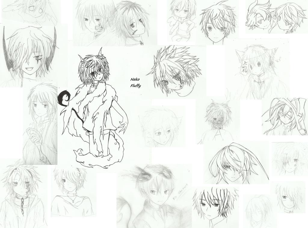Sketches by NekoFluffy
