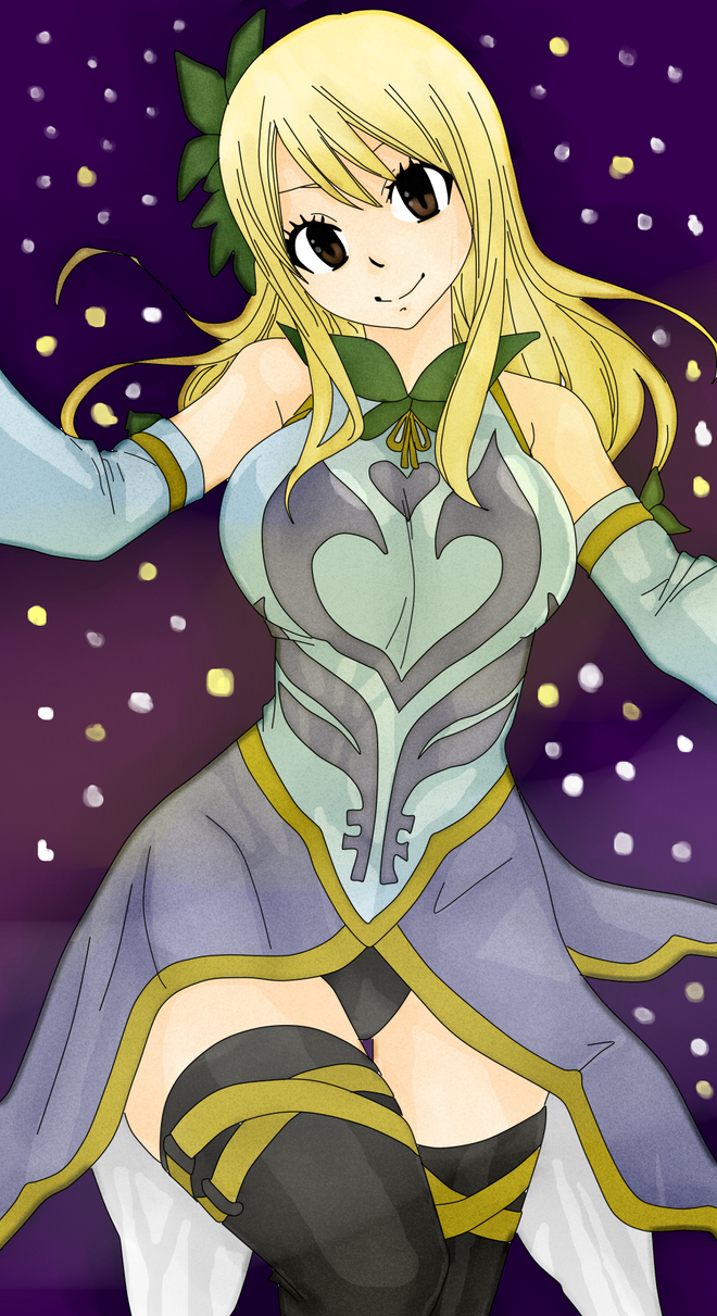 Lucy Heartfilia Celestial Spirit Clothes GMG by ...