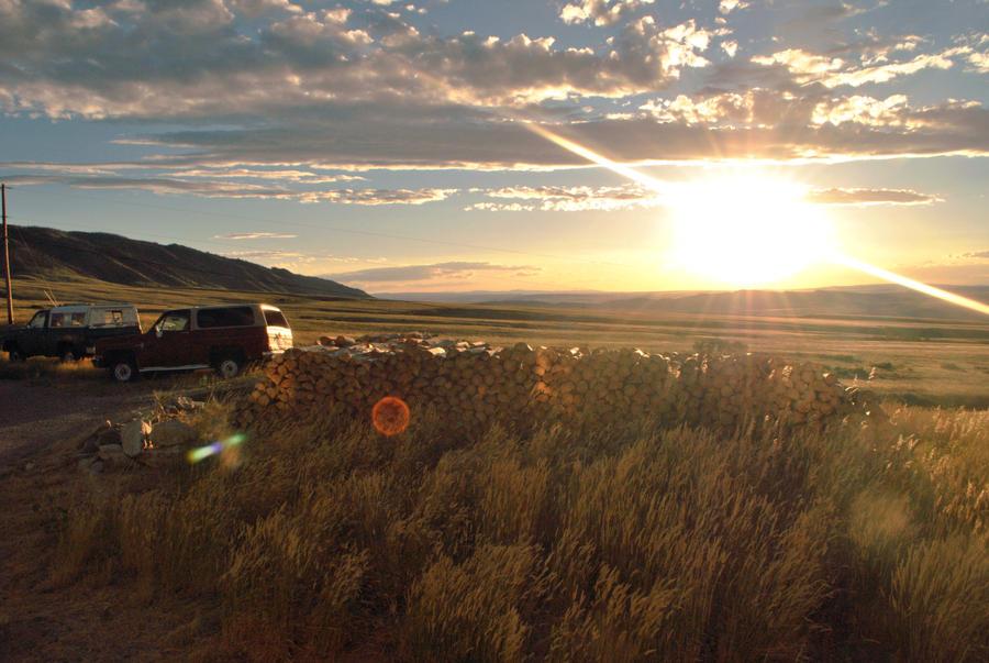 Wyoming Sunset by ssammedd