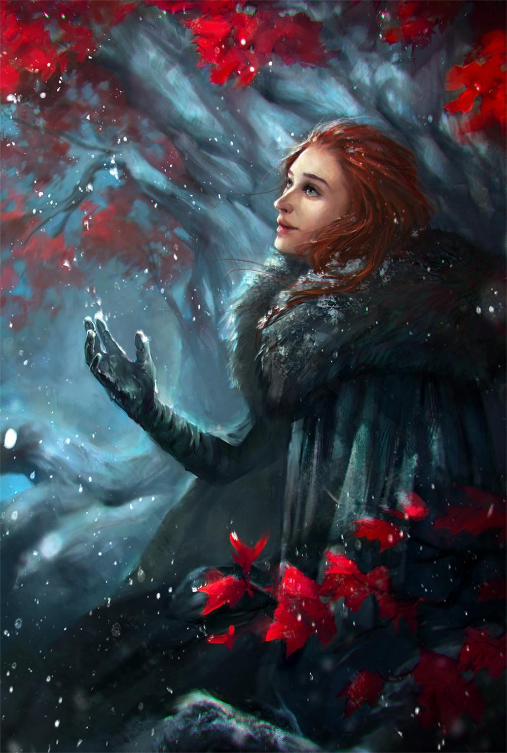 Game of thrones fanart by ValeryNeith