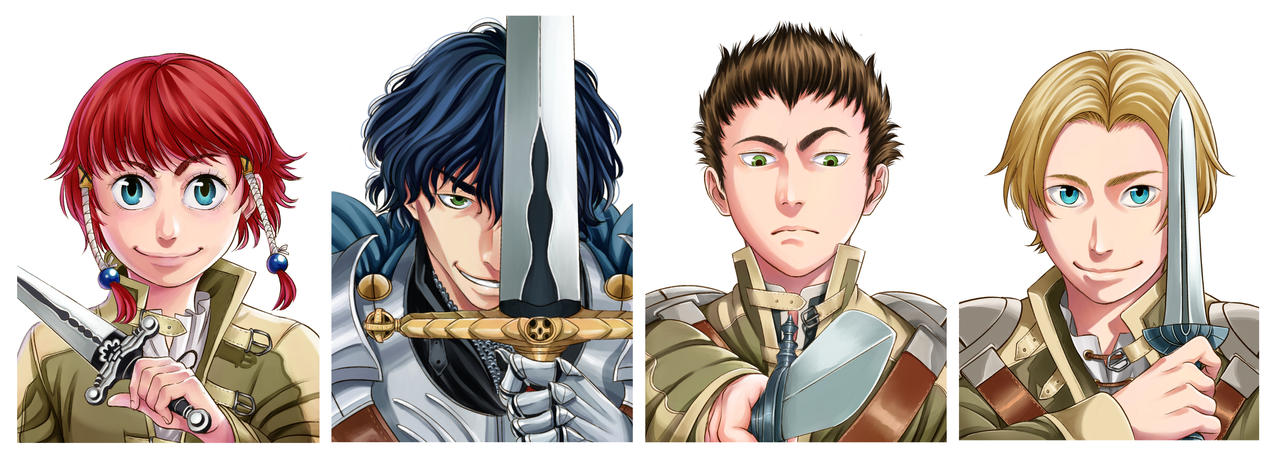 Banner Atena and Co. by Sorein703