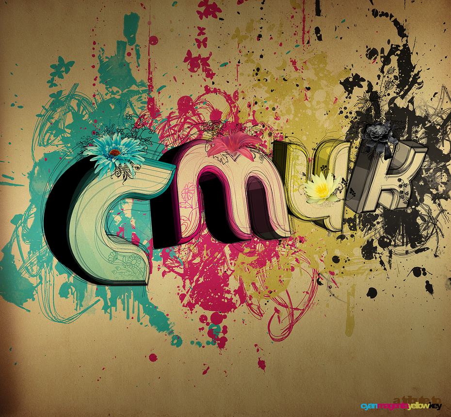 A Tribute To CMYK by Frosty47 Digital Art Inspiration: CMYK Artworks & Graphic Designs
