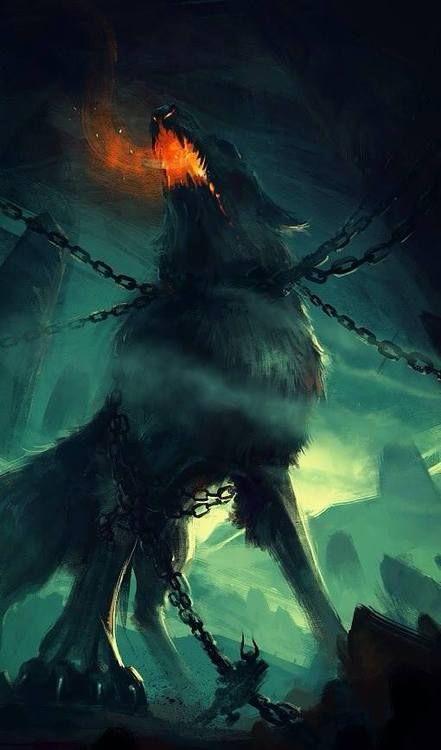 Image of Fenrir God of destruction
