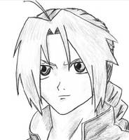 Quick Edward Elric by LovelyArtist23