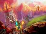 Dungeon Defense by ElizavetaS