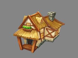 Fantasy house by ElizavetaS