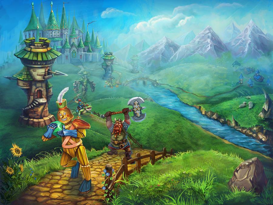 Towers of Oz by ElizavetaS