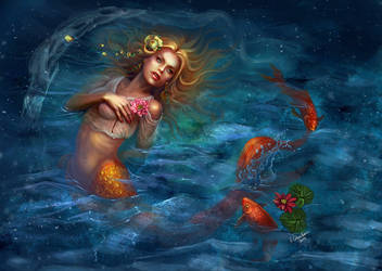 Mermaid by ElizavetaS