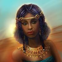 Nubian Queen by ElizavetaS